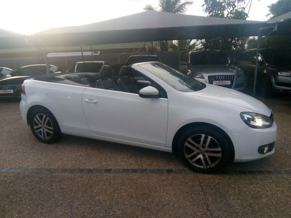 2012 Volkswagen Golf Vi 1.4 Tsi Cabrio Cline  Western Cape Milnerton_0