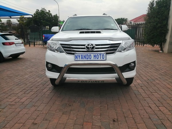 2014 Toyota Fortuner 3.0d-4d Heritage Rb  Gauteng Bramley_0