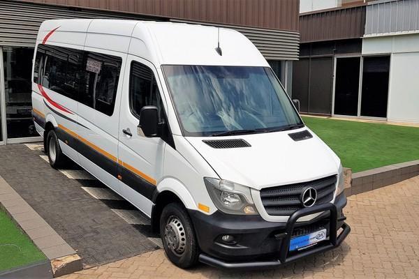 2017 Mercedes-Benz Sprinter 515 CDI 22 Seater LOW 64100KMS Gauteng Midrand_0