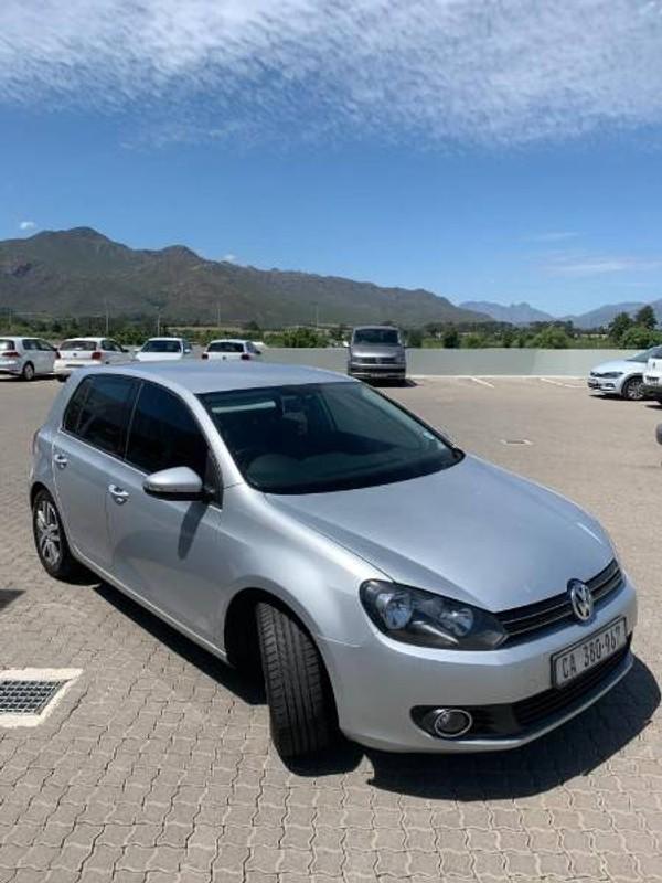 2012 Volkswagen Golf Vi 1.6 Tdi Comfortline Dsg  Western Cape Paarl_0