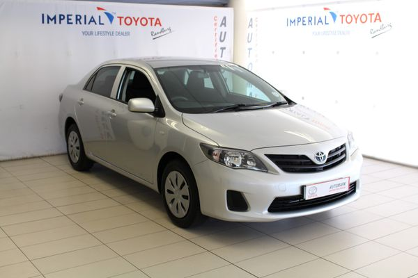 2015 Toyota Corolla Quest 1.6 Gauteng Bryanston_0
