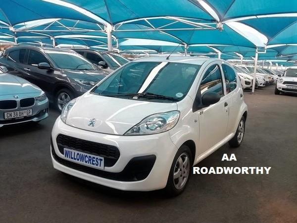 2014 Peugeot 107 Urban  Gauteng Randburg_0