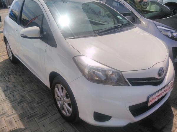 2012 Toyota Yaris 1.0 Xs 3dr  Eastern Cape East London_0