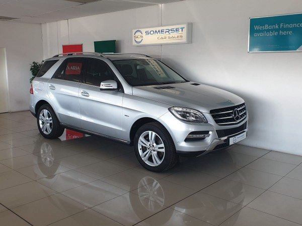 2012 Mercedes-Benz M-Class A 1 Owner ML350 with Nav Western Cape Strand_0