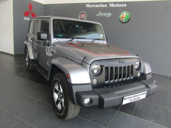 2015 Jeep Wrangler Unlimited 3.6l V6 At  Limpopo Polokwane_0