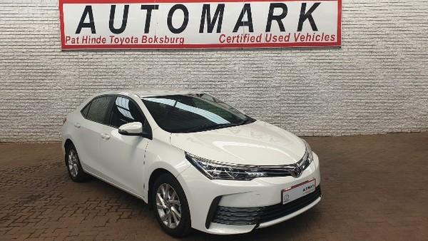 2018 Toyota Corolla 1.6 Prestige CVT Gauteng Boksburg_0