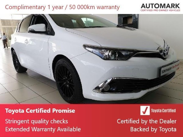2018 Toyota Auris 1.6 XR CVT Gauteng Lenasia_0
