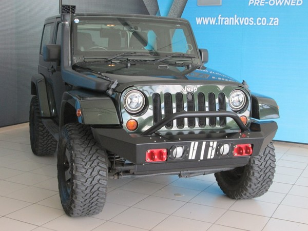 2011 Jeep Wrangler 3.8 Sahara 2dr At  Western Cape Somerset West_0