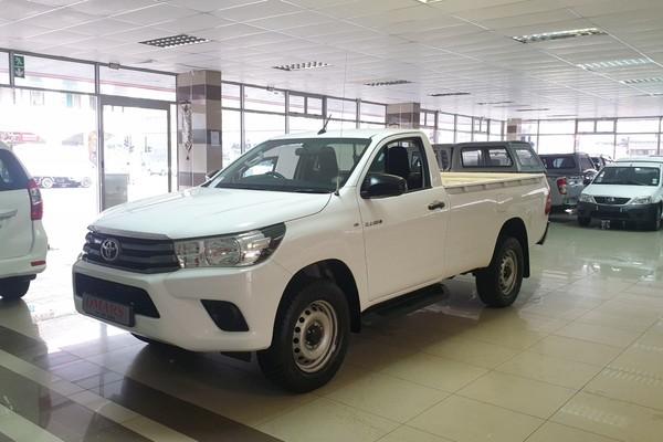 2016 Toyota Hilux 2.4 GD-6 RB SRX Single Cab Bakkie Kwazulu Natal Durban_0