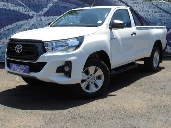 2018 Toyota Hilux 2.4 GD-6 SRX 4x4 Single Cab Gauteng Boksburg_0