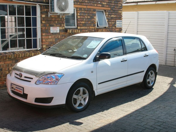 2005 Toyota RunX 140i Rt  Gauteng Vereeniging_0