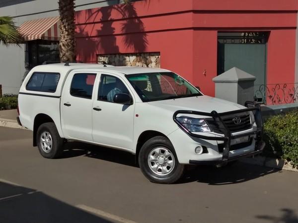 2013 Toyota Hilux 2.5d-4d Srx 4x4 Pu Dc  Gauteng Vanderbijlpark_0