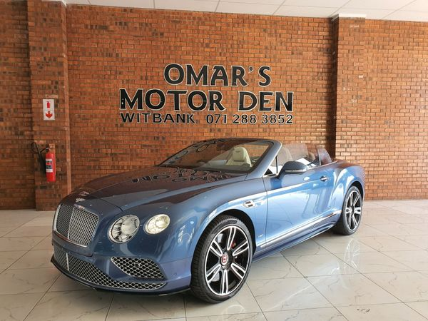 2016 Bentley Continental GT V8 S Convertible Mpumalanga Witbank_0