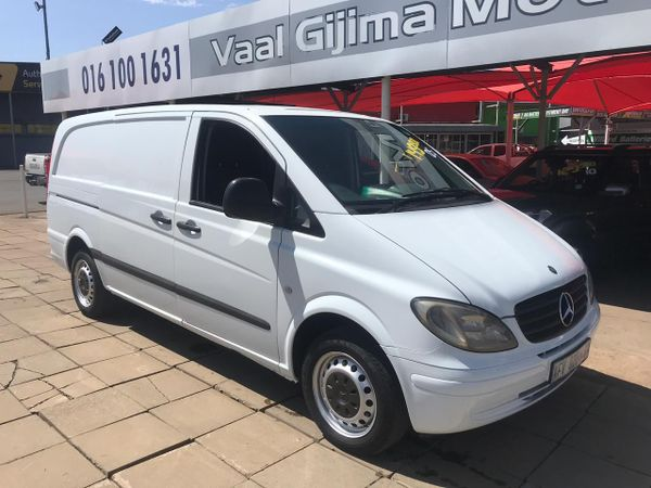 2005 Mercedes-Benz Vito 115 2.2 Cdi Crew Bus  Gauteng Vereeniging_0