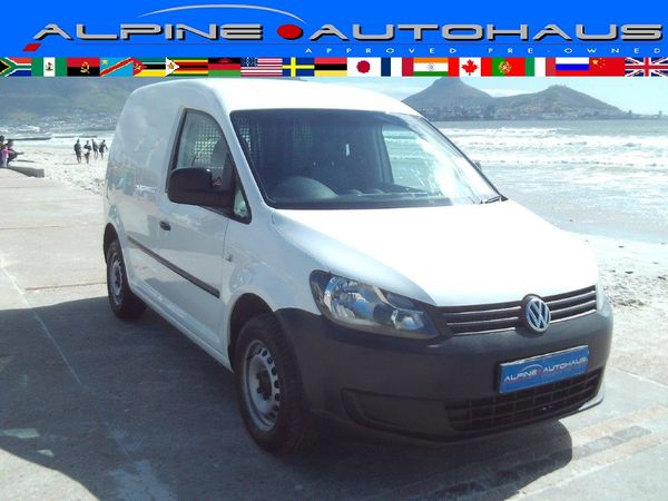 2012 Volkswagen Caddy 1.6i 75kw Fc Pv  Western Cape_0