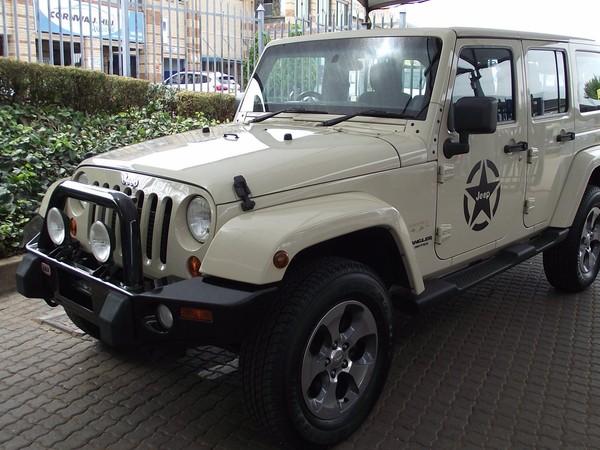 2011 Jeep Wrangler 2.8 Crd Unltd Sahar At  Gauteng Pretoria_0