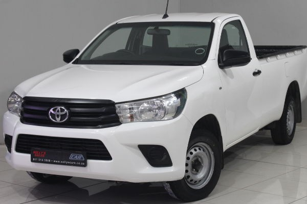 2016 Toyota Hilux 2.4 GD Single Cab Bakkie Gauteng Nigel_0