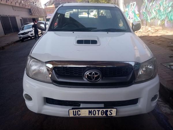 2012 Toyota Hilux 3.0 D-4d Srx 4x4 Pu Sc  Gauteng Germiston_0