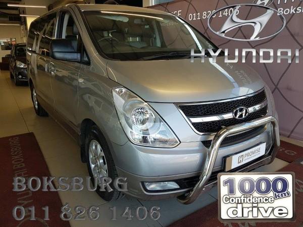2017 Hyundai H1 2.5 CRDI Wagon Auto Gauteng Boksburg_0