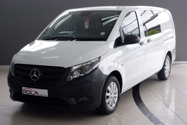 2017 Mercedes-Benz Vito 111 1.6 CDI Mixto Crewcab FC PV Western Cape Somerset West_0