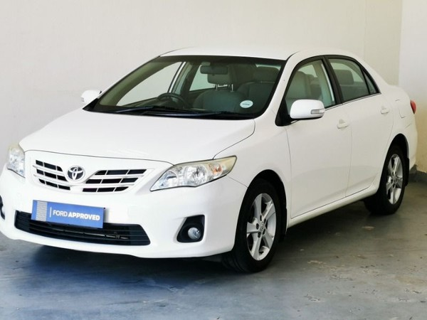 2012 Toyota Corolla 1.6 Heritage  Western Cape Riversdale_0
