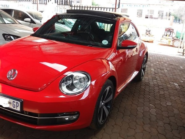 2015 Volkswagen Beetle 1.4 Tsi Sport  Gauteng Jeppestown_0