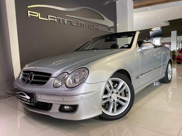 2009 Mercedes-Benz CLK-Class Clk 500 Cabriolet  Gauteng Four Ways_0