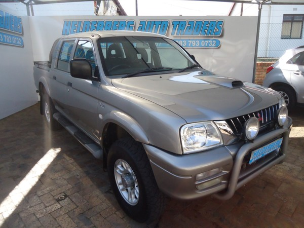 2005 Mitsubishi Colt 2800tdi Rodeo 4x2 Pu Dc Very Good Condition Western Cape Somerset West_0
