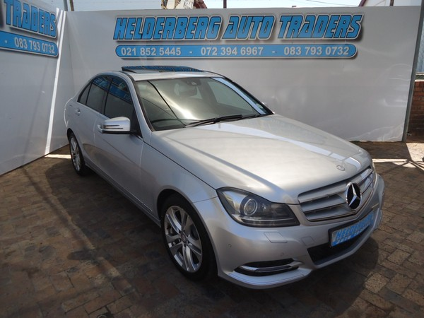 2013 Mercedes-Benz C-Class C200 Avantgarde At Clean Western Cape Somerset West_0