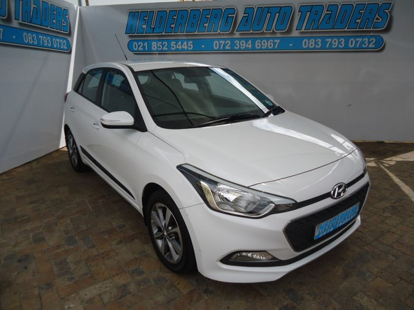 2016 Hyundai i20 1.4 Fluid At Low Mileage Western Cape Somerset West_0