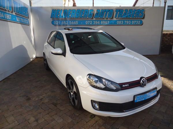 2011 Volkswagen Golf Vi Gti 2.0 Tsi Dsg Spotless Recaro Seats  Western Cape Somerset West_0