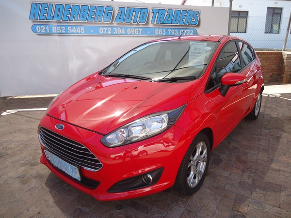 2015 Ford Fiesta 1.0 ECOBOOST Trend Powershift  Low Mileage  Western Cape Somerset West_0