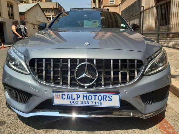 2018 Mercedes-Benz C-Class C200 AMG line Auto Gauteng Marshalltown_0