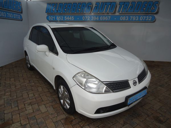 2011 Nissan Tiida 1.6 Visia  AT Sedan Western Cape Somerset West_0