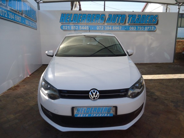 2012 Volkswagen Polo 1.6 Comfortline Tip 5dr Very clean FSH Western Cape Somerset West_0