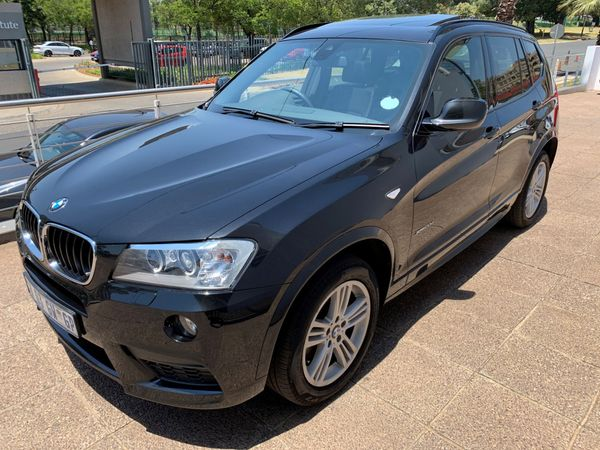 2013 BMW X3 xDRIVE20d Auto Gauteng Germiston_0