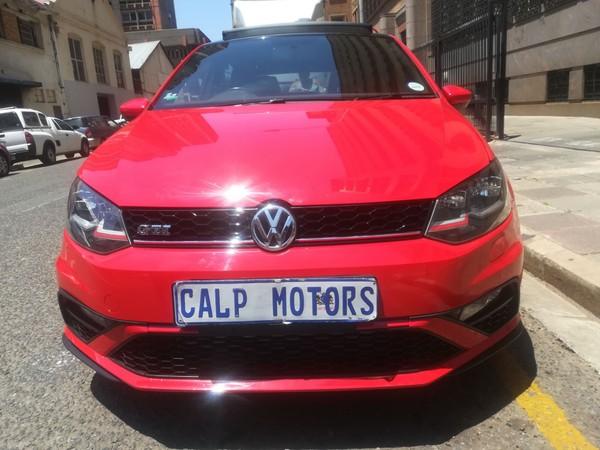 2015 Volkswagen Polo GTi 1.8tsi DSG Gauteng Marshalltown_0