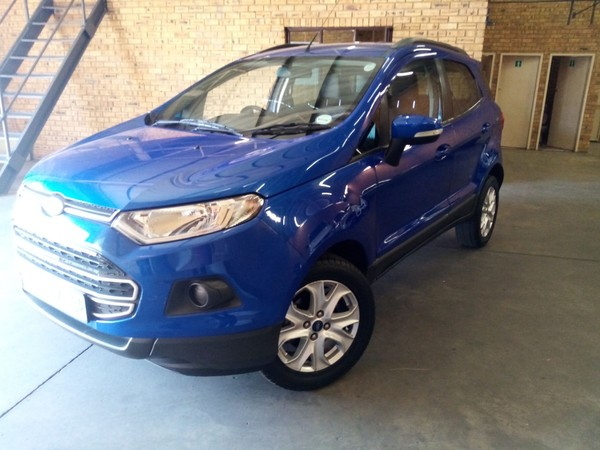 2016 Ford EcoSport 1.5TDCi Ambiente Gauteng Boksburg_0