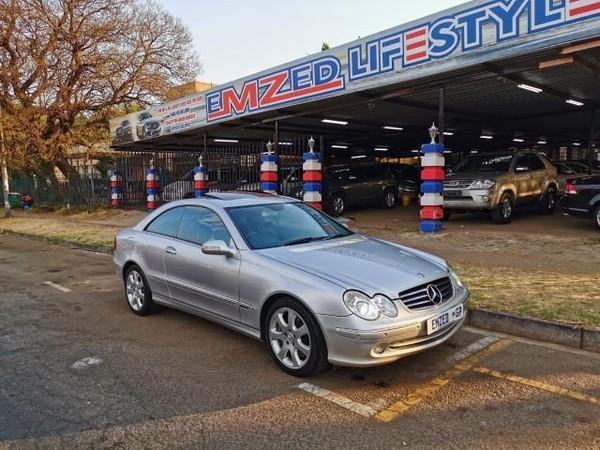 2004 Mercedes-Benz CLK-Class Clk 500 Coupe  Gauteng Benoni_0