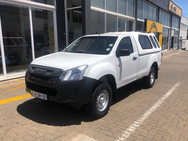 2019 Isuzu D-MAX 250 HO Fleetside Safety Single Cab Bakkie Gauteng Alberton_0