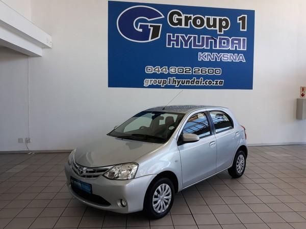 2015 Toyota Etios 1.5 XS 5 DOOR Western Cape Knysna_0