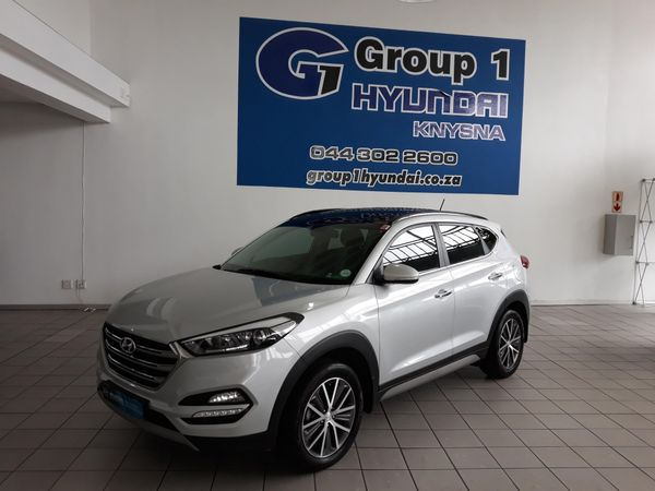 2017 Hyundai Tucson 2.0 CRDi ELITE AT Western Cape Knysna_0