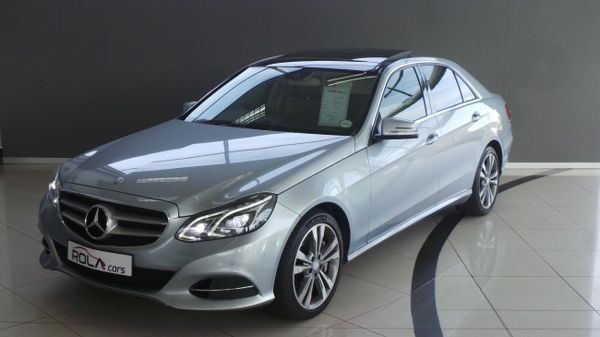 2013 Mercedes-Benz E-Class E 500 Be  Western Cape Somerset West_0