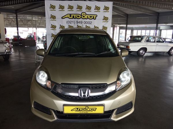 2016 Honda Mobilio 1.5 Comfort CVT Western Cape Bellville_0