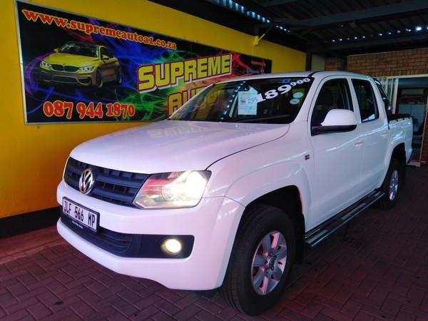 2013 Volkswagen Amarok 2.0tdi Trendline 90kw Dc Pu  Gauteng Pretoria_0