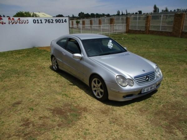 2003 Mercedes-Benz C-Class C 230k Coupe At  Gauteng Roodepoort_0