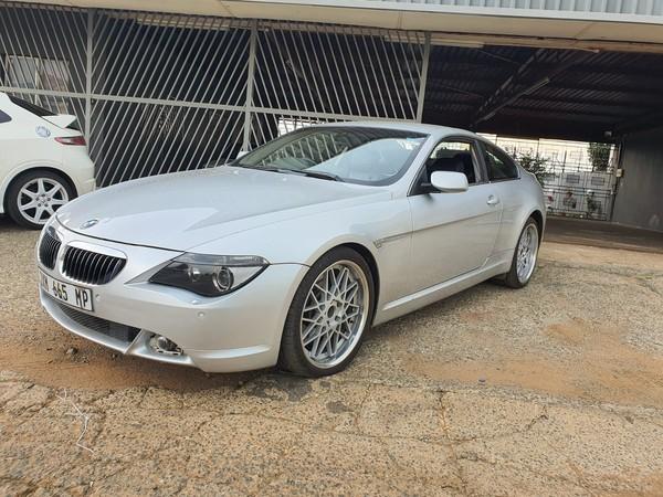 2005 BMW 6 Series 645ci Coupe e63  Mpumalanga Mpumalanga_0