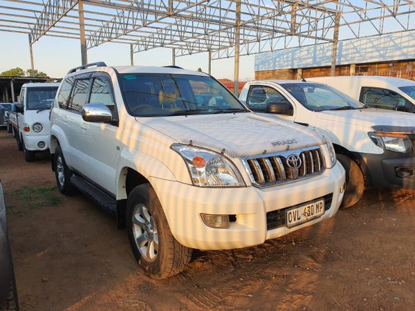2003 Toyota Prado Vx 3.0 Tdi At  Mpumalanga Mpumalanga_0