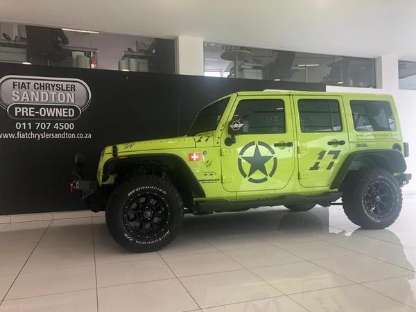 2017 Jeep Wrangler Unlimited 3.6l V6 At  Gauteng Bryanston_0