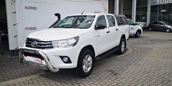 2016 Toyota Hilux 2.4 GD-6 SRX 4x4 Double Cab Bakkie Eastern Cape East London_0